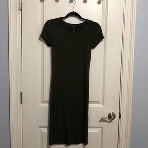 Forever 21 Bodycon T-Shirt Dress